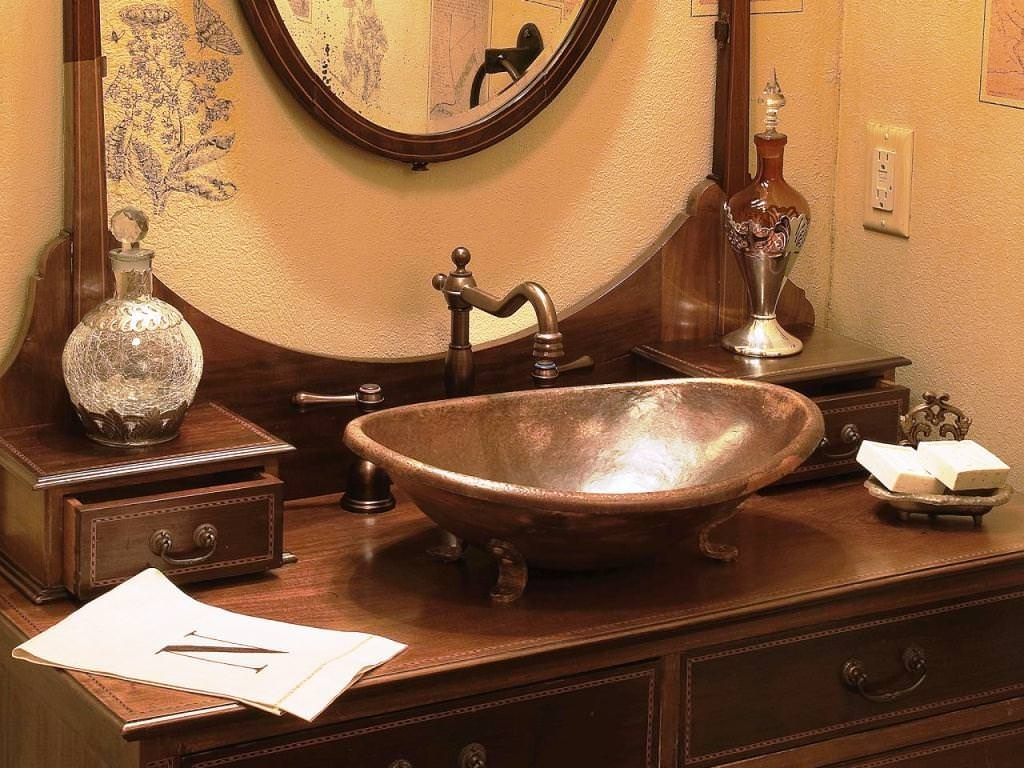 Image of: Copper Farmhouse Sink Ebay