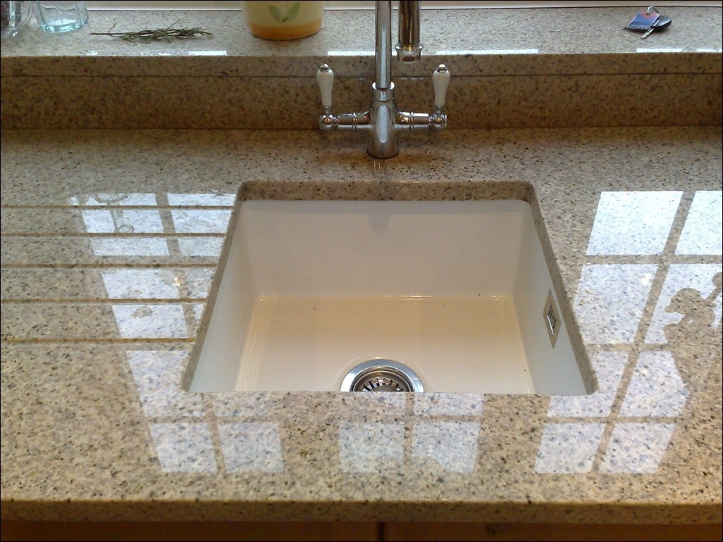 Image of: Copper Farmhouse Sink Kitchen Sink