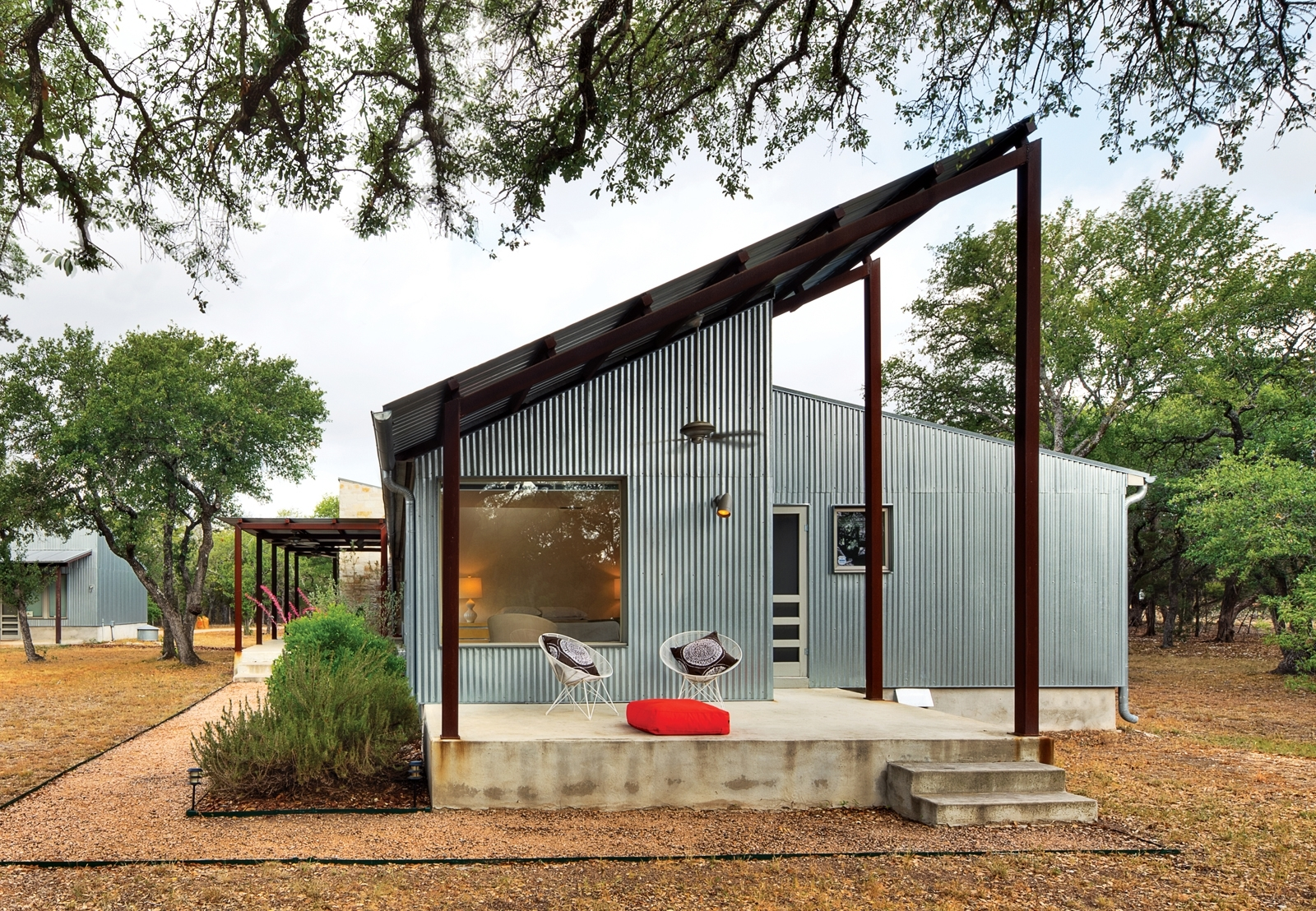 Image of: Corrugated Metal Siding Architectural