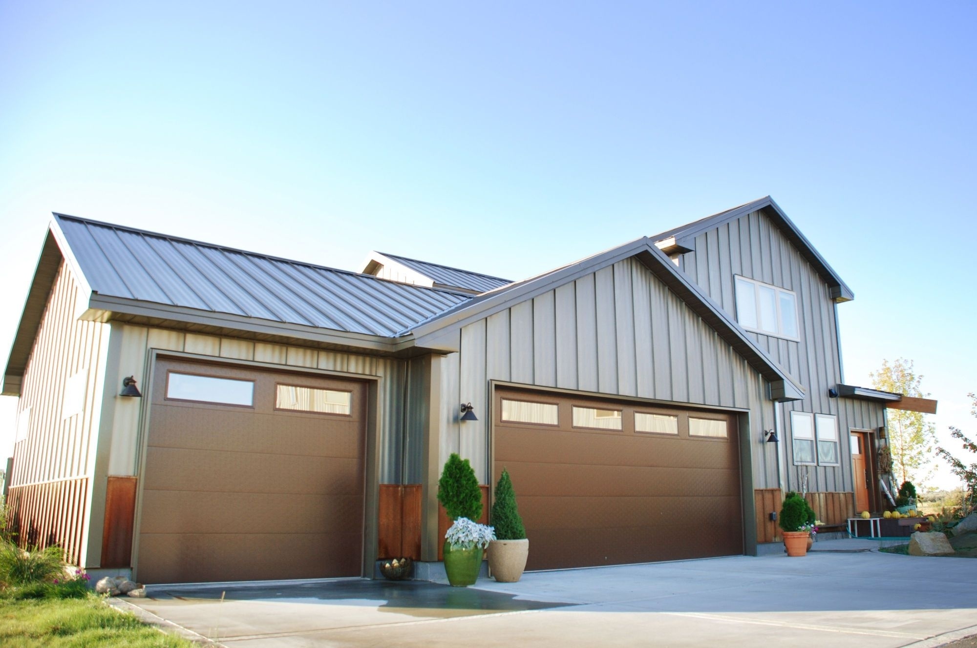 Image of: Corrugated Metal Siding Cost