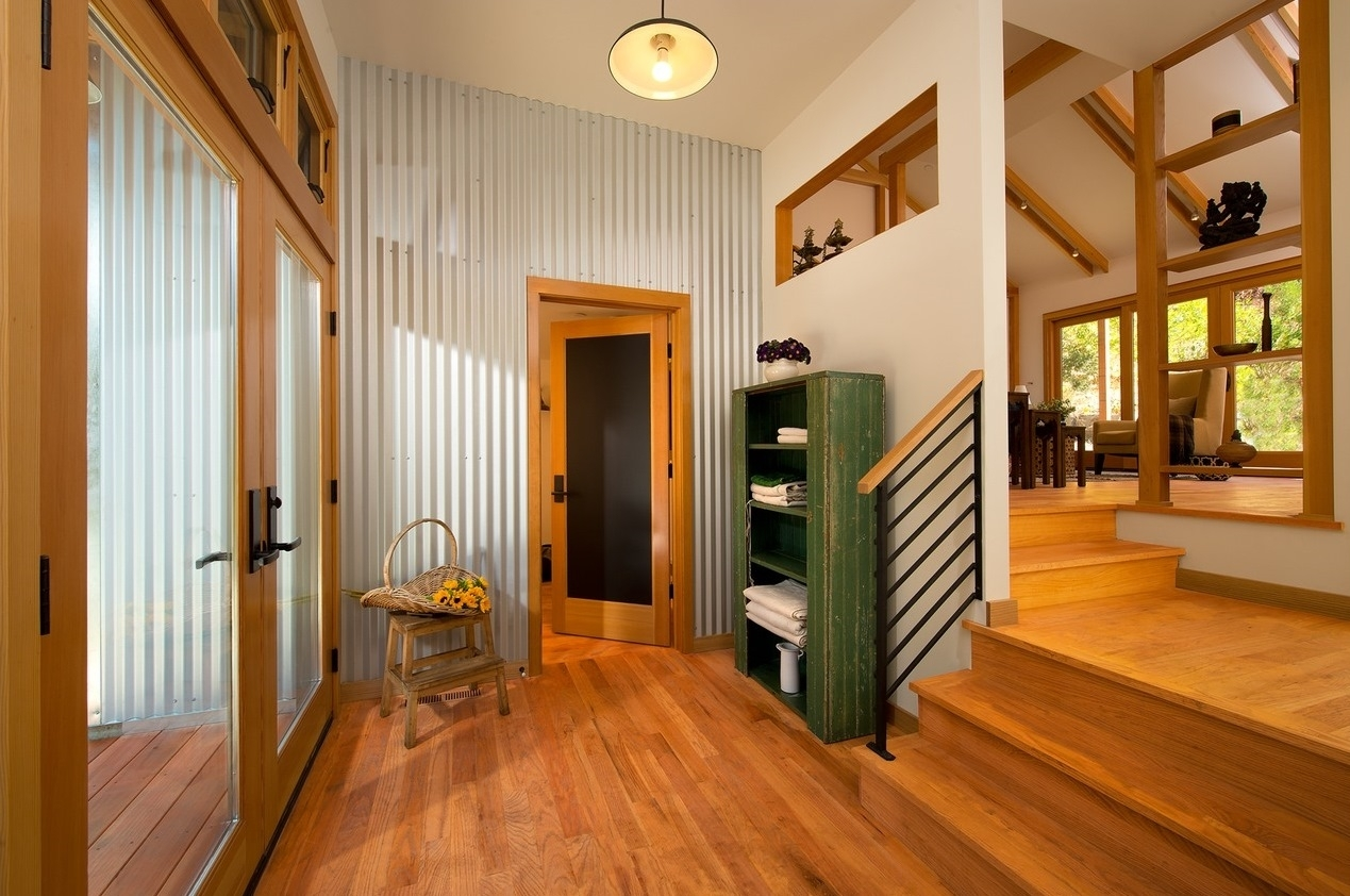 Picture of: Corrugated Metal Siding Interior Walls