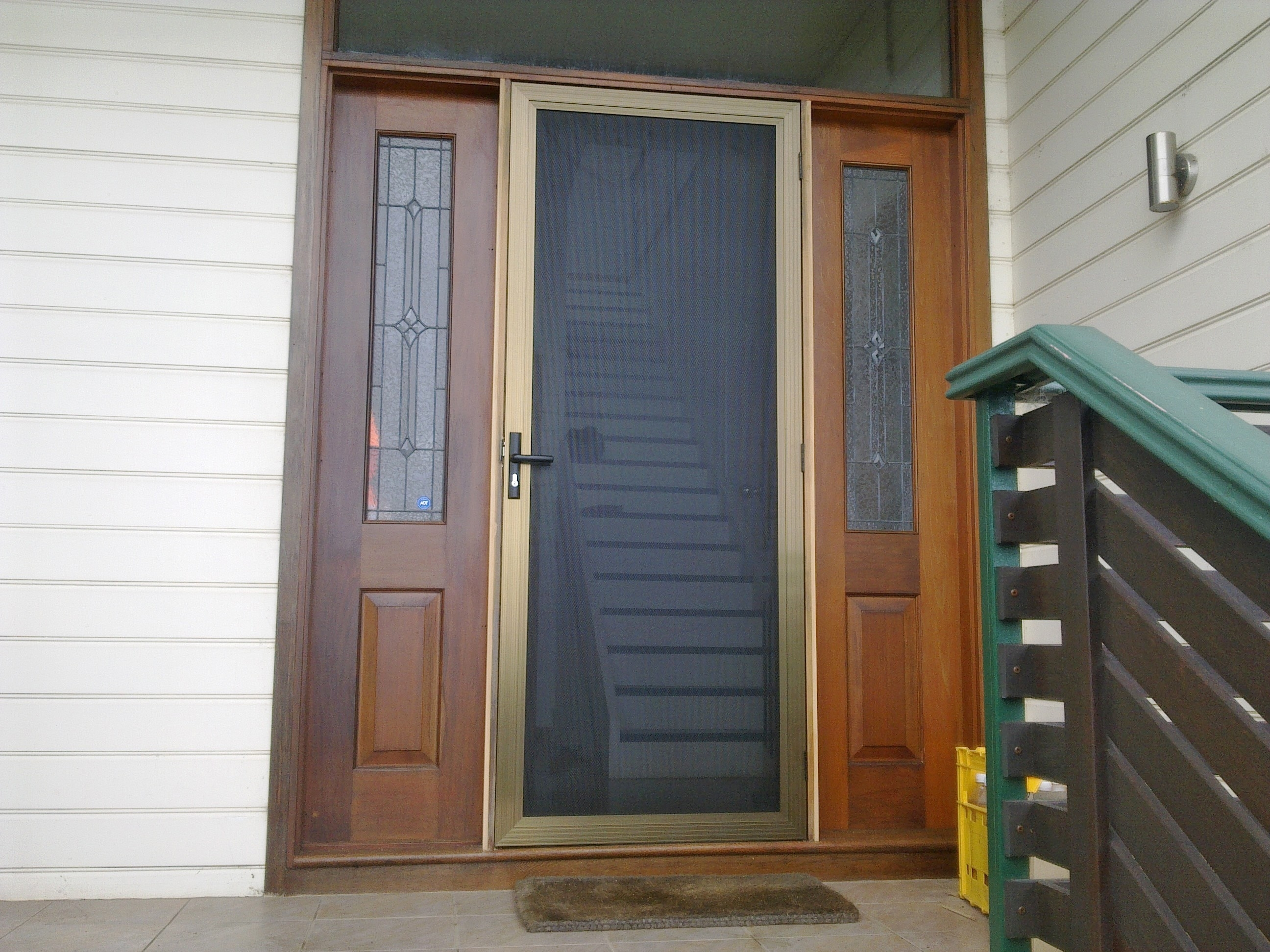 Picture of: Entry Door With Sidelights Home Depot