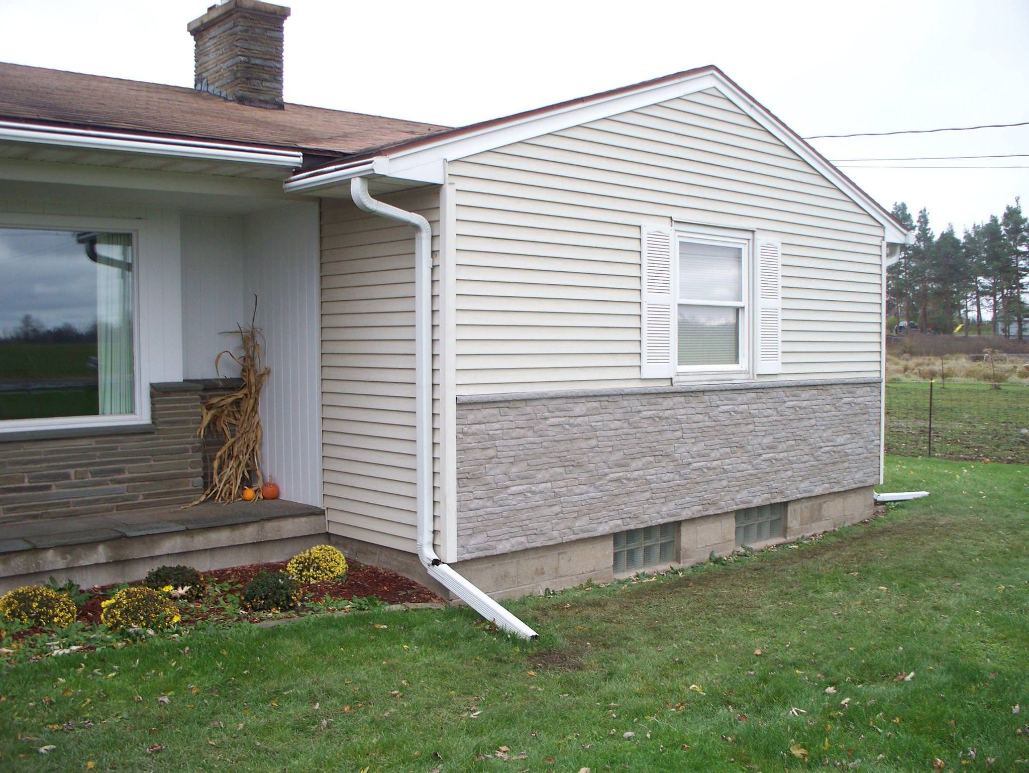 Image of: Exterior Faux Brick Panel Siding for Houses