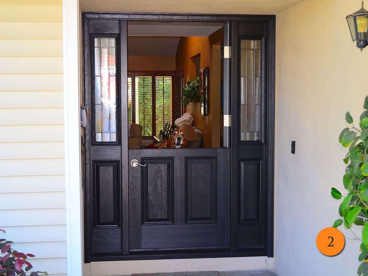 Picture of: Fiberglass Front Entry Doors With Sidelights