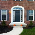 Front Door With Sidelights Colors