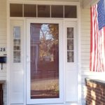 Front Door With Sidelights Dimensions