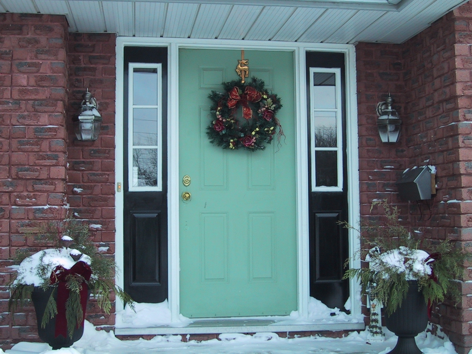 Picture of: Front Door With Sidelights For Sale