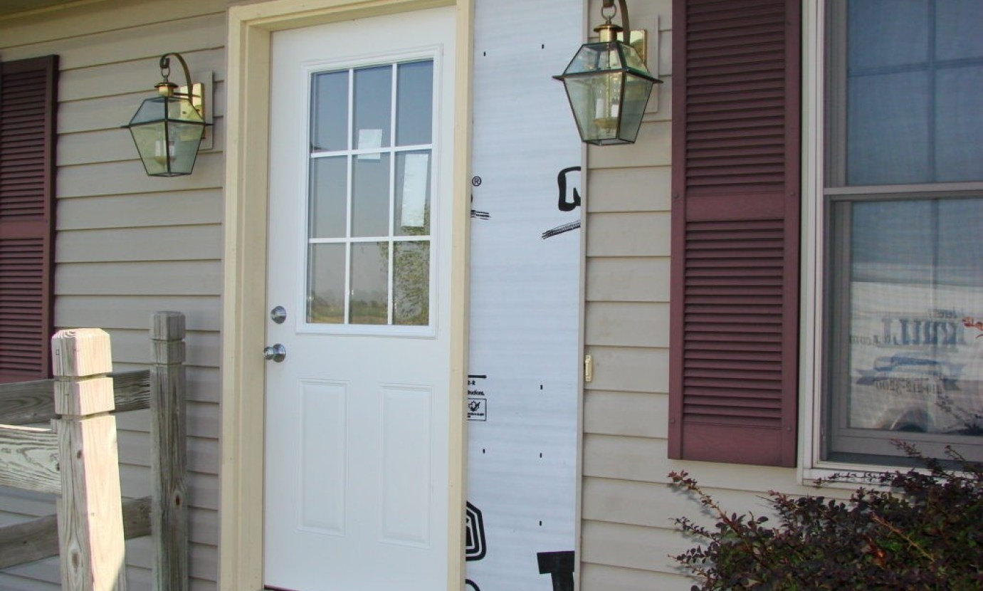 Picture of: Front Door With Sidelights Size