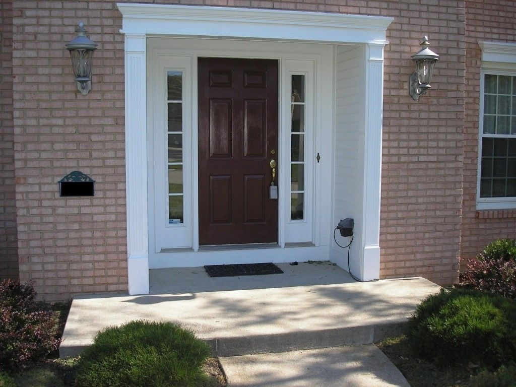 Picture of: Front Door With Sidelights White