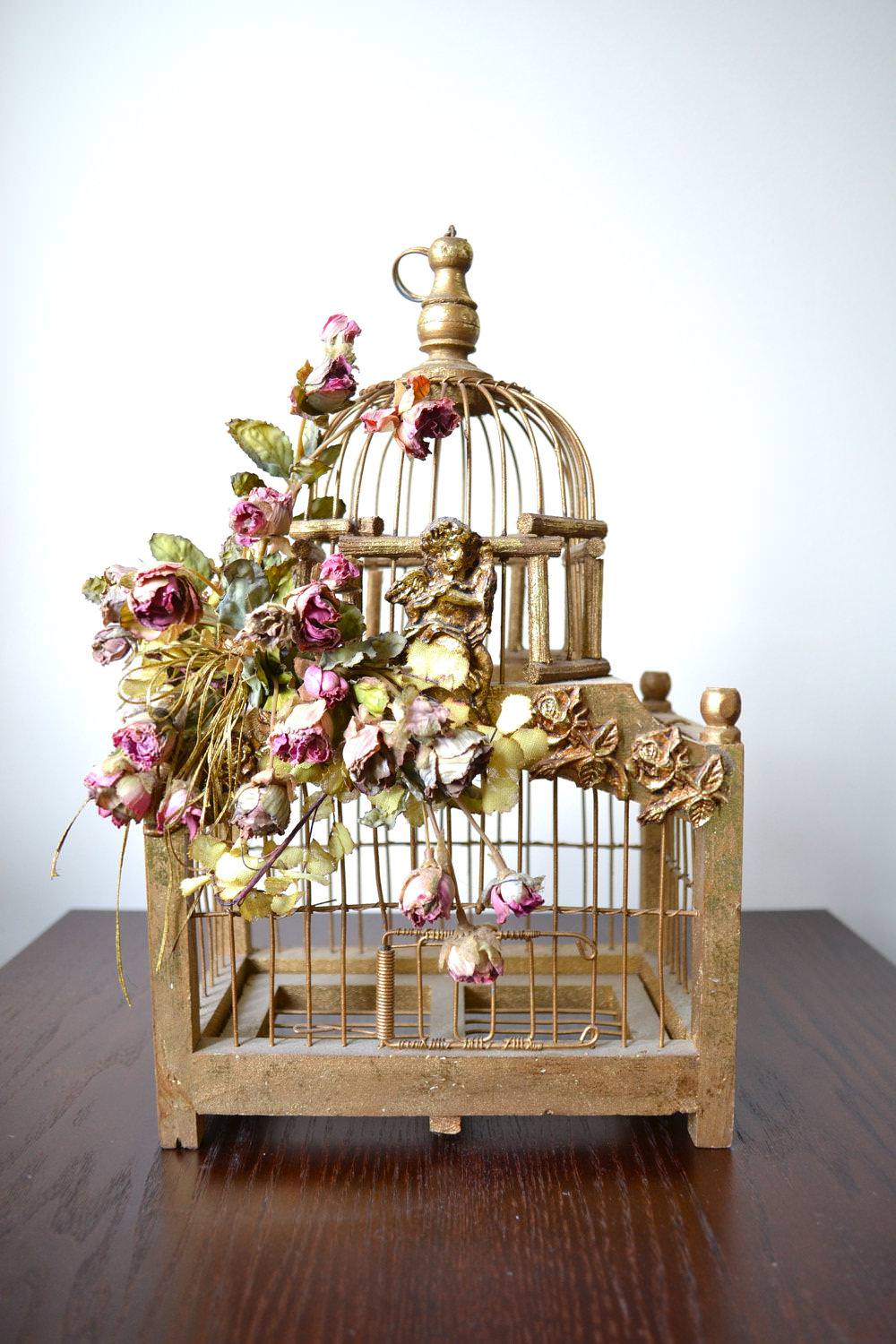 Image of: Decorative Bird Cages Large