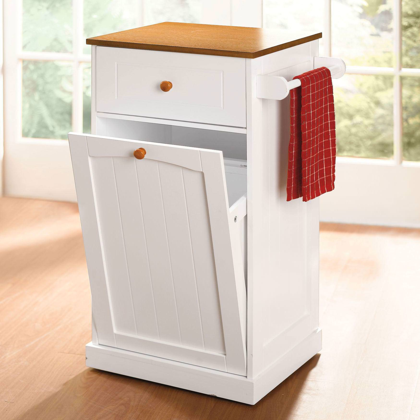 Image of: kitchen garbage cans 13 gallon