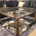 Mirrored Coffee Table And Side Tables