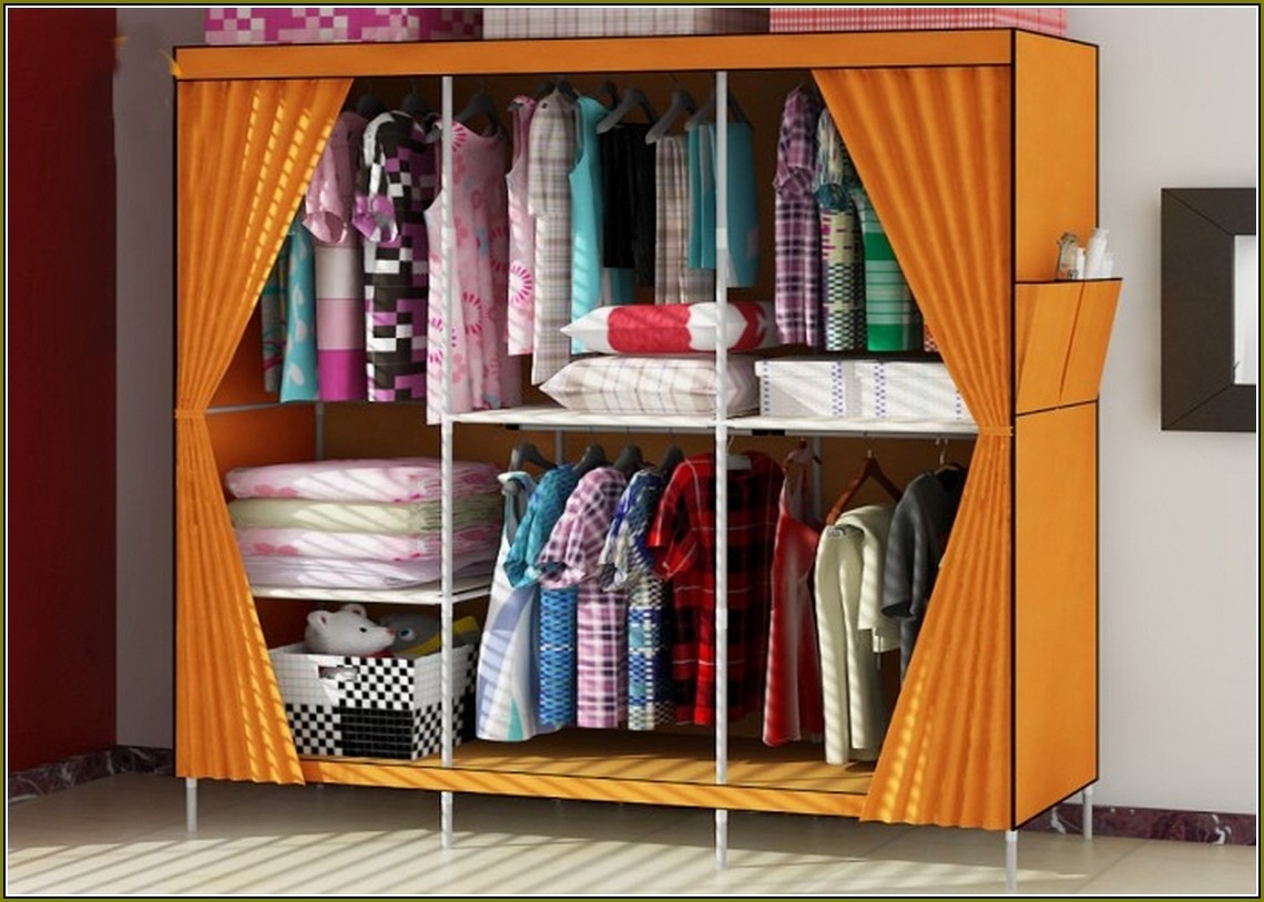 Image of: Portable Closet Walmart