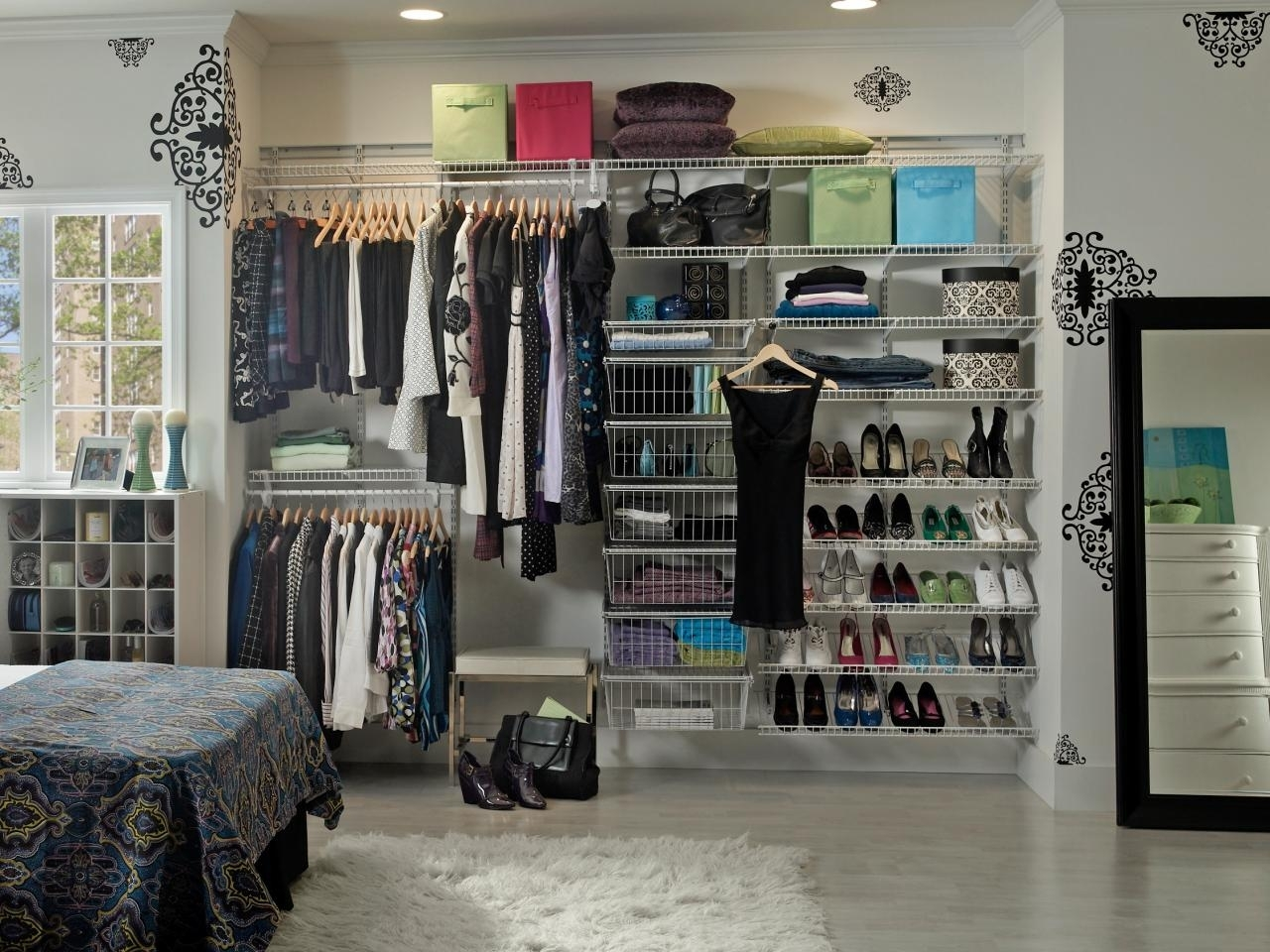 Image of: Rotating Shoe Rack Bed Bath Beyond
