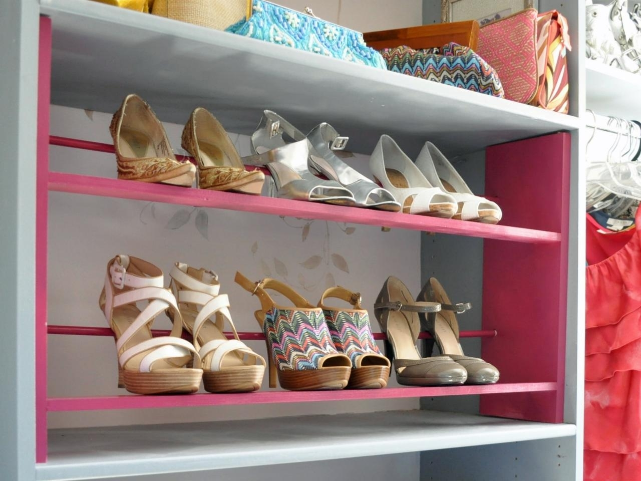 Image of: Rotating Shoe Rack Home Depot