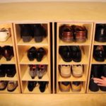 Rotating Shoe Rack Overboard