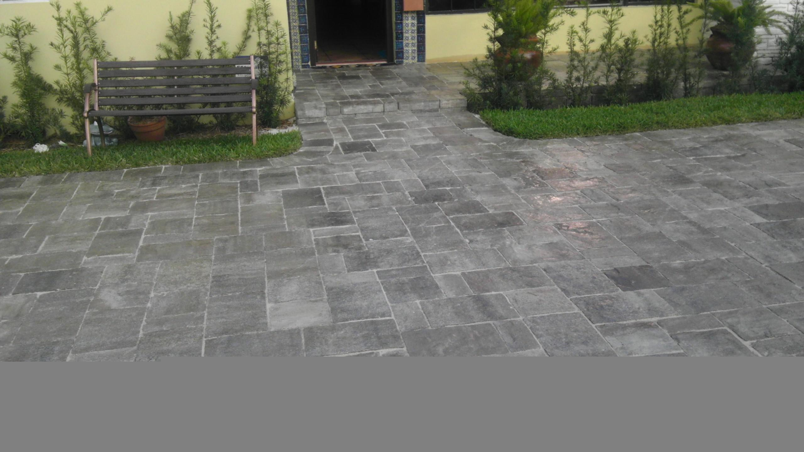 Image of: 12×12 Concrete Pavers