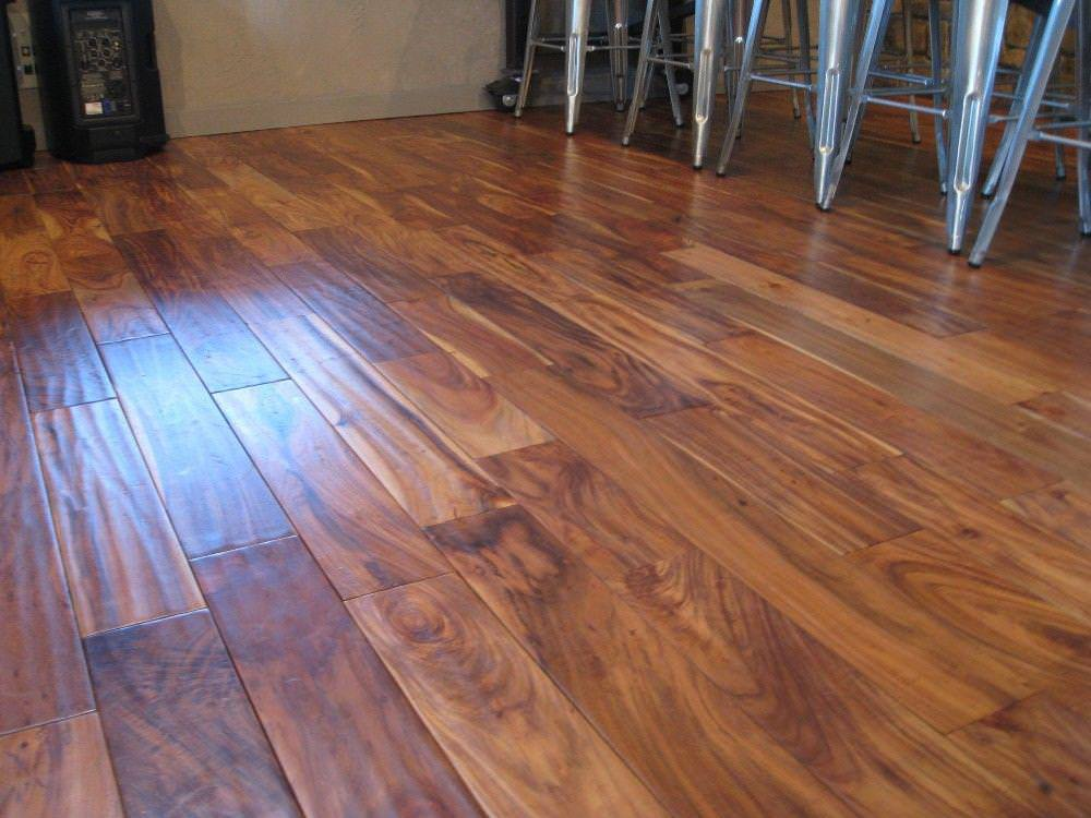 Image of: Acacia wood flooring