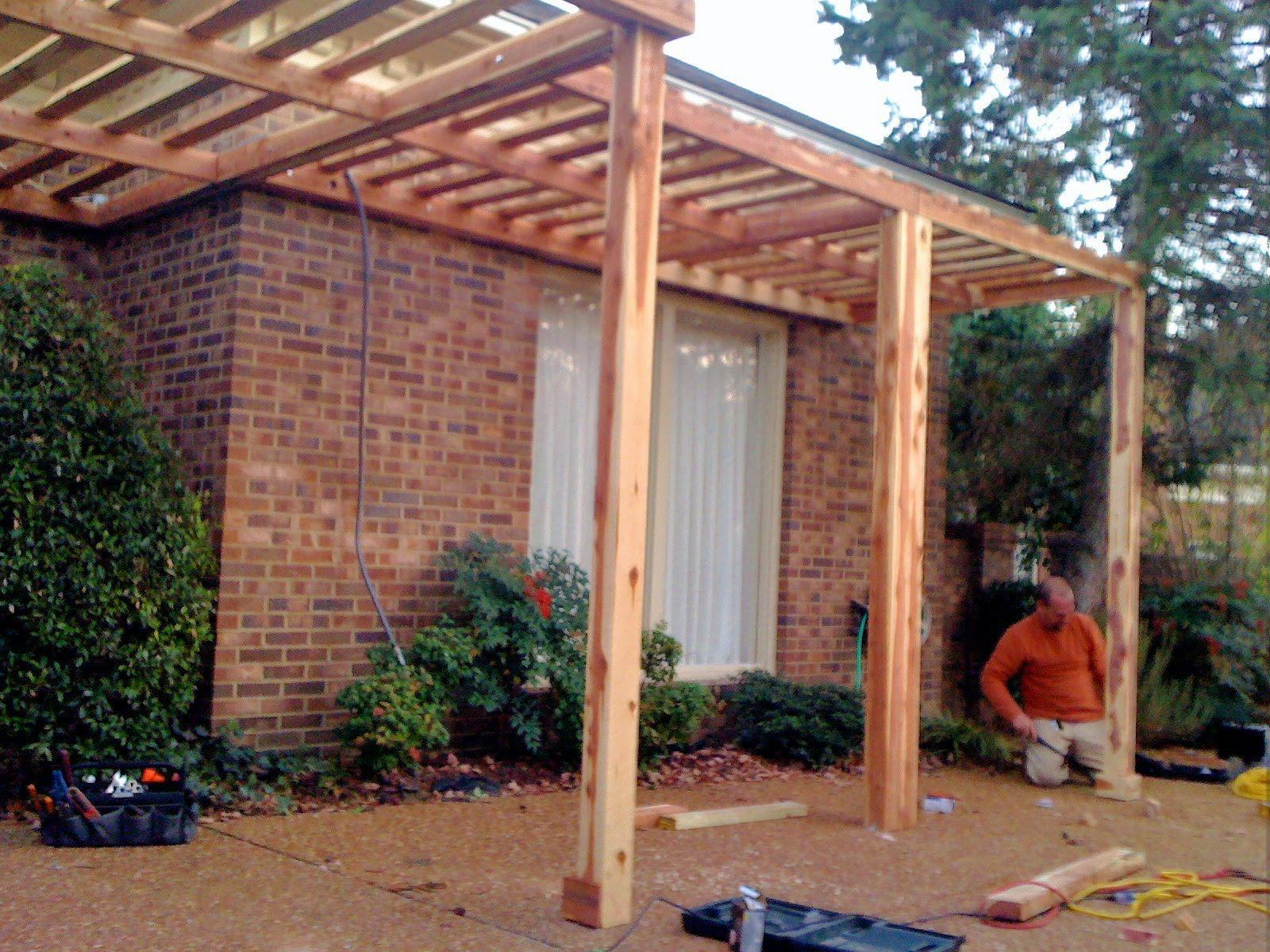 Picture of: Amazon Cedar Pergola