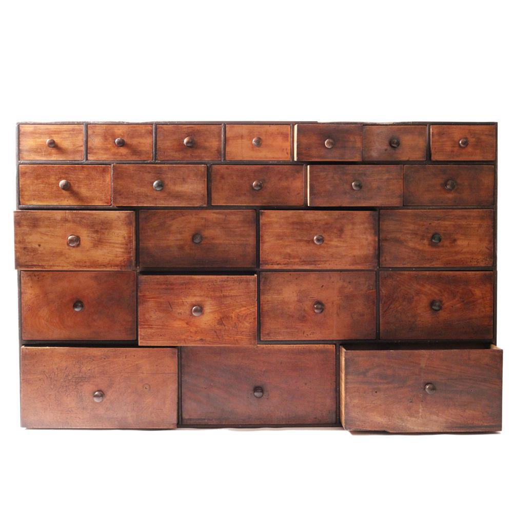 Image of: Apothecary Chest Small