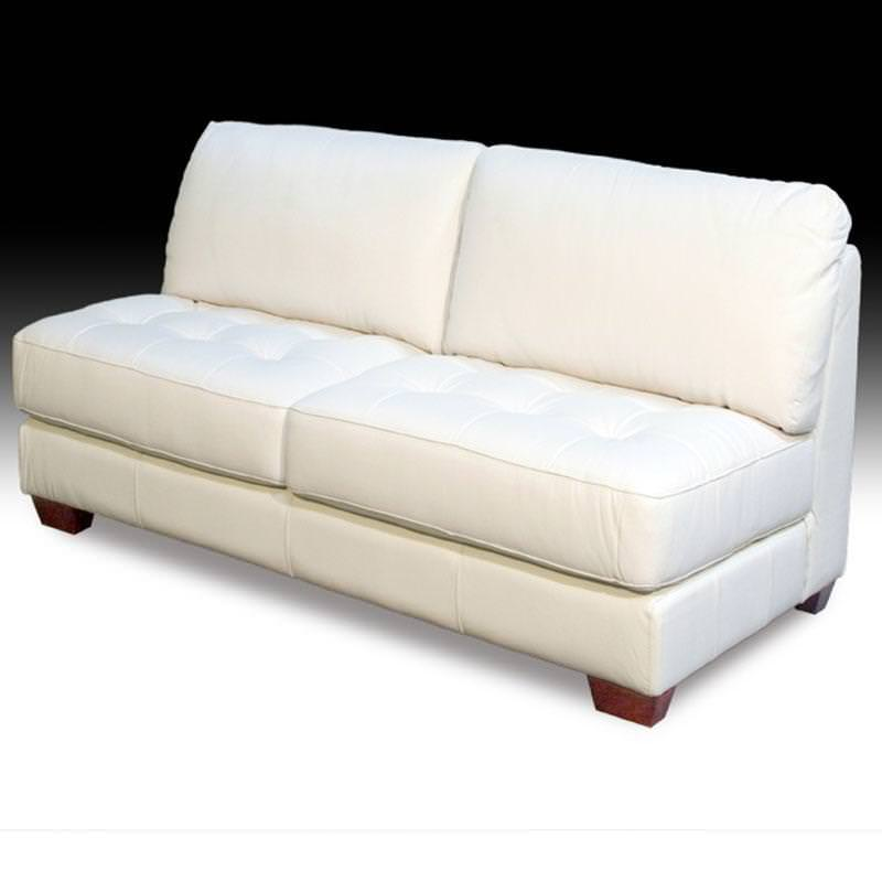 Armless Loveseat Bench