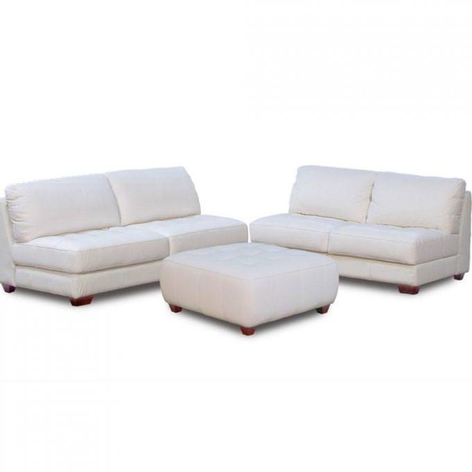 Image of: Armless Loveseat Canada