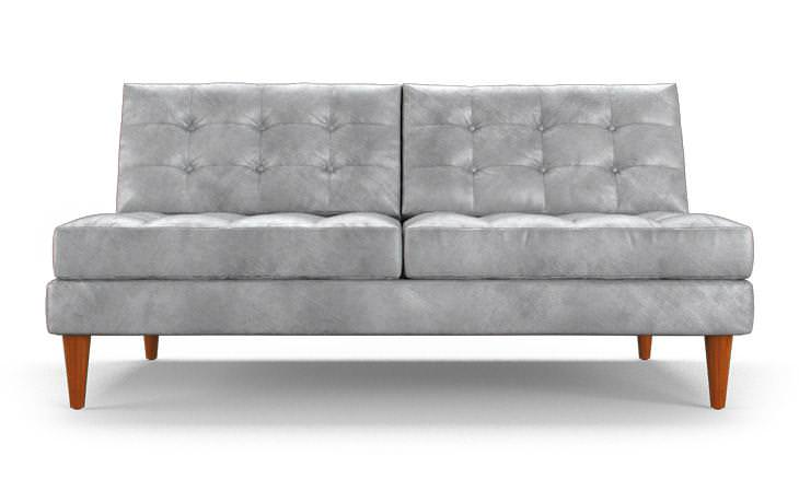 Armless Loveseat Sleeper Sofa