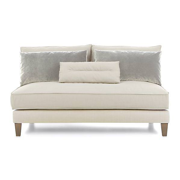 Image of: Armless Sofa