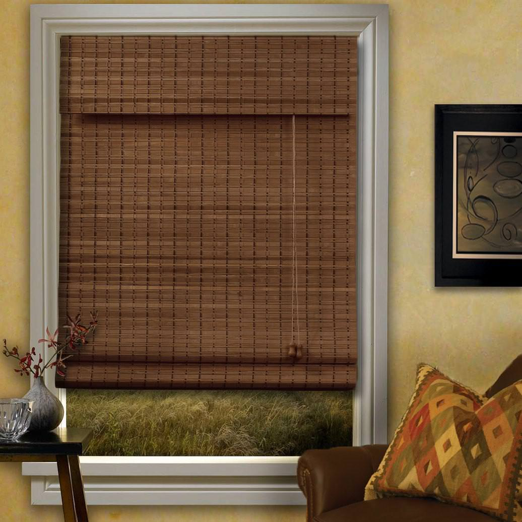 Image of: Bamboo Blinds Walmart