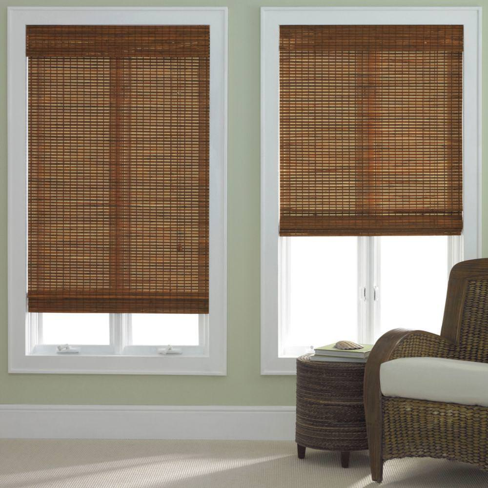 Image of: Bamboo Roman Shades Bed Bath And Beyond
