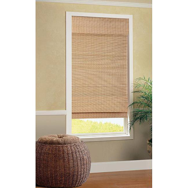 Image of: Bamboo Roman Shades Cordless