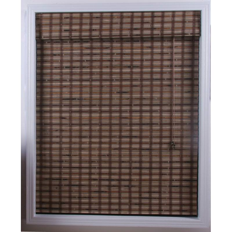 Image of: Bamboo Roman Shades Lowes