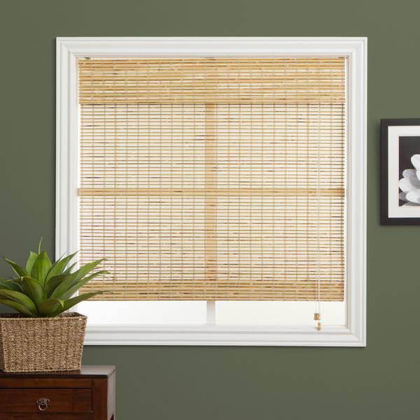 Picture of: Bamboo Roman Shades Walmart
