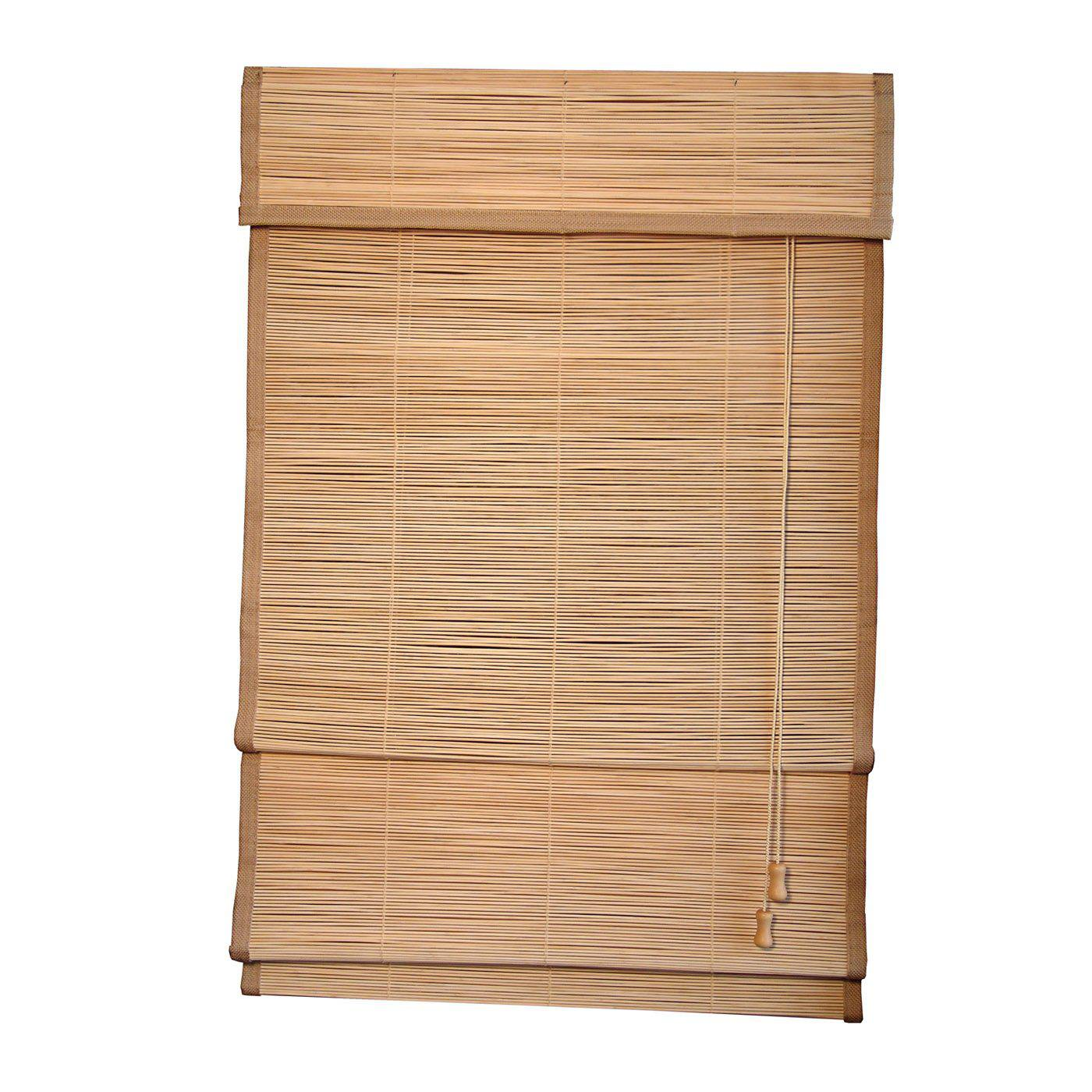 Image of: Bamboo Shades Home Depot