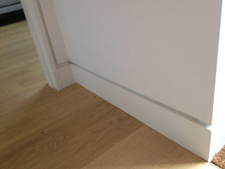 Image of: Baseboard Lowes