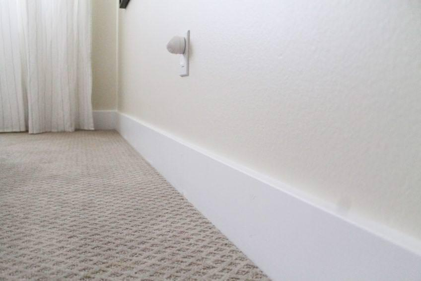 Image of: Baseboard Molding Blocks