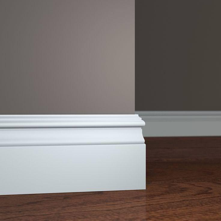Image of: Baseboard Molding Lowes