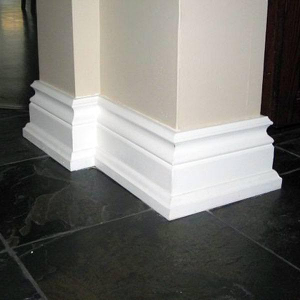 Image of: Baseboard Trim Styles