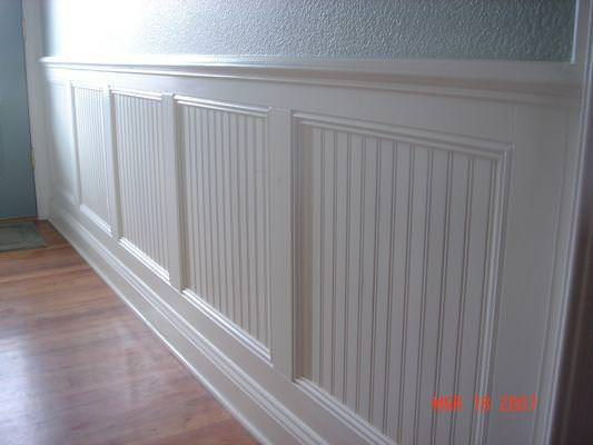 Picture of: Beadboard Paneling Bathroom