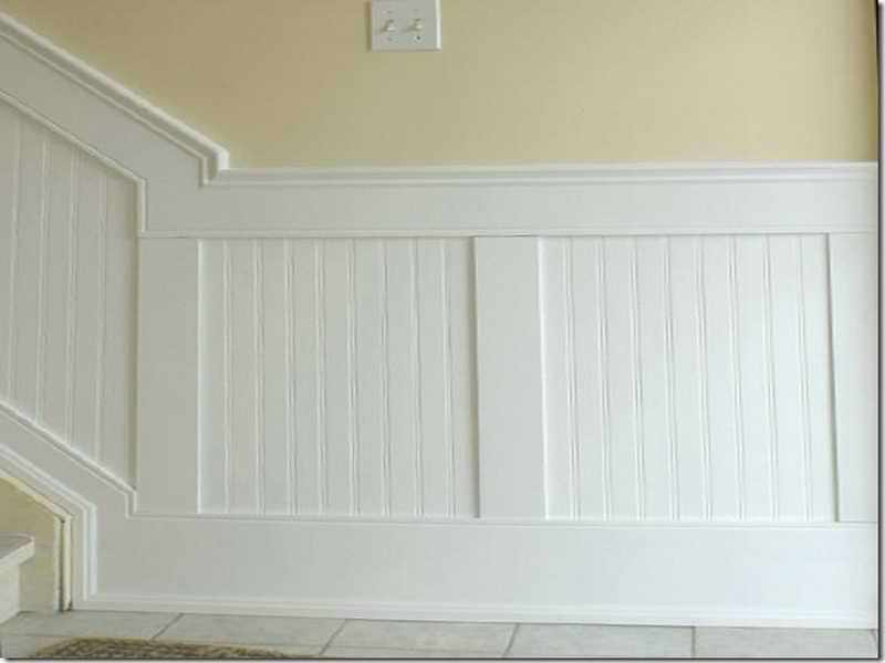 Picture of: Beadboard Paneling Laundry Room