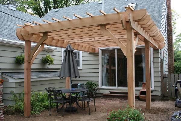 Picture of: Cedar Pergola At Costco