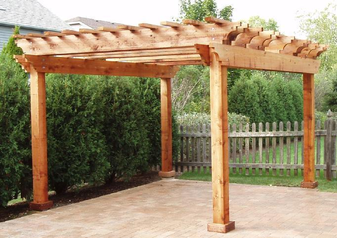 Picture of: Cedar Pergola Designs