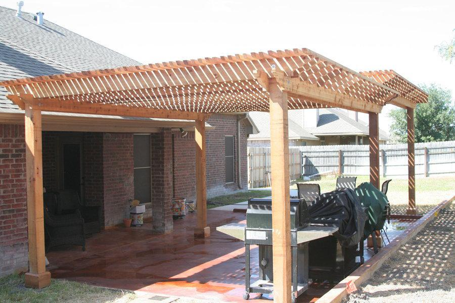 Picture of: Cedar Pergola For Sale