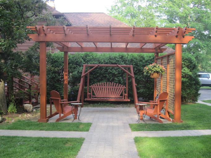 Picture of: Cedar Pergola Home Depot