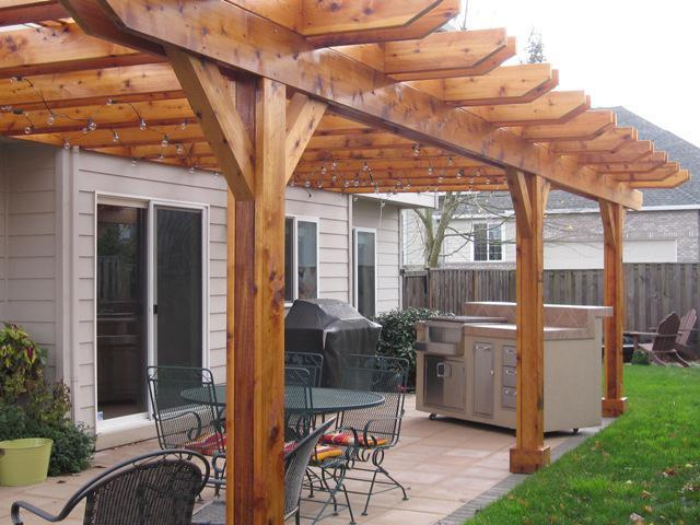 Picture of: Cedar Pergola Kits For Sale