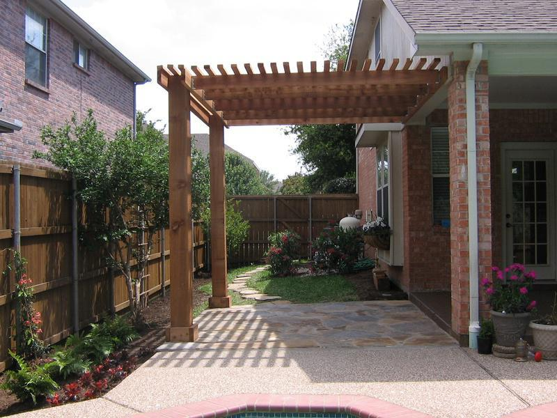 Picture of: Cedar Pergola Stain Colors