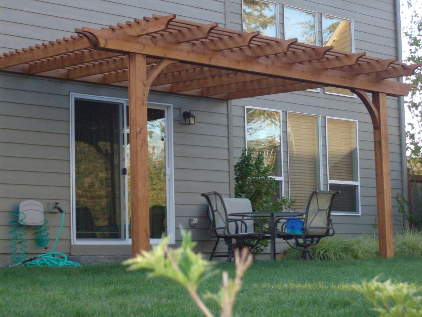 Picture of: Cedar Pergola Swing