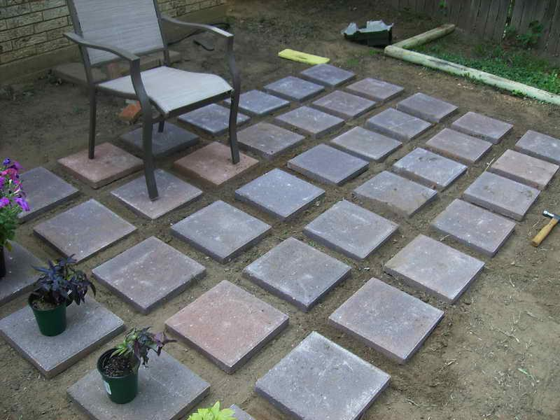 Image of: Cement Pavers Cost