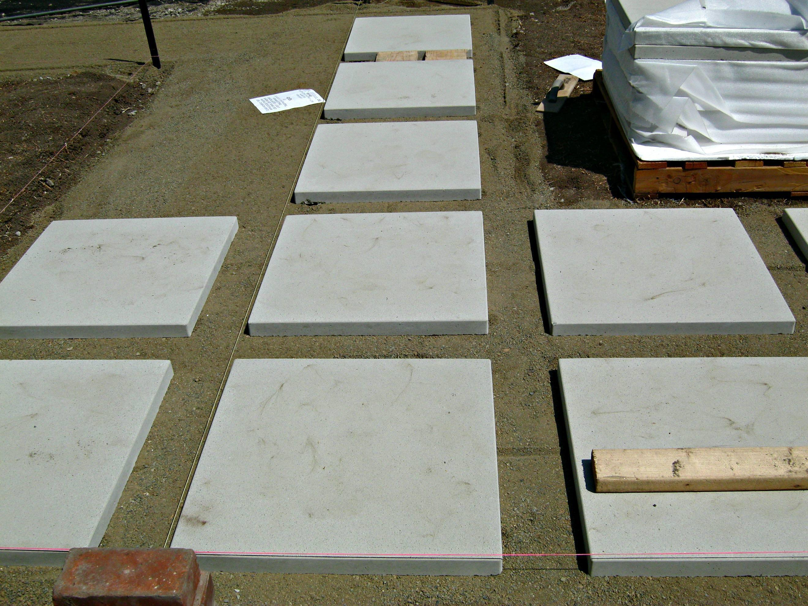 Image of: Cement Pavers Diy