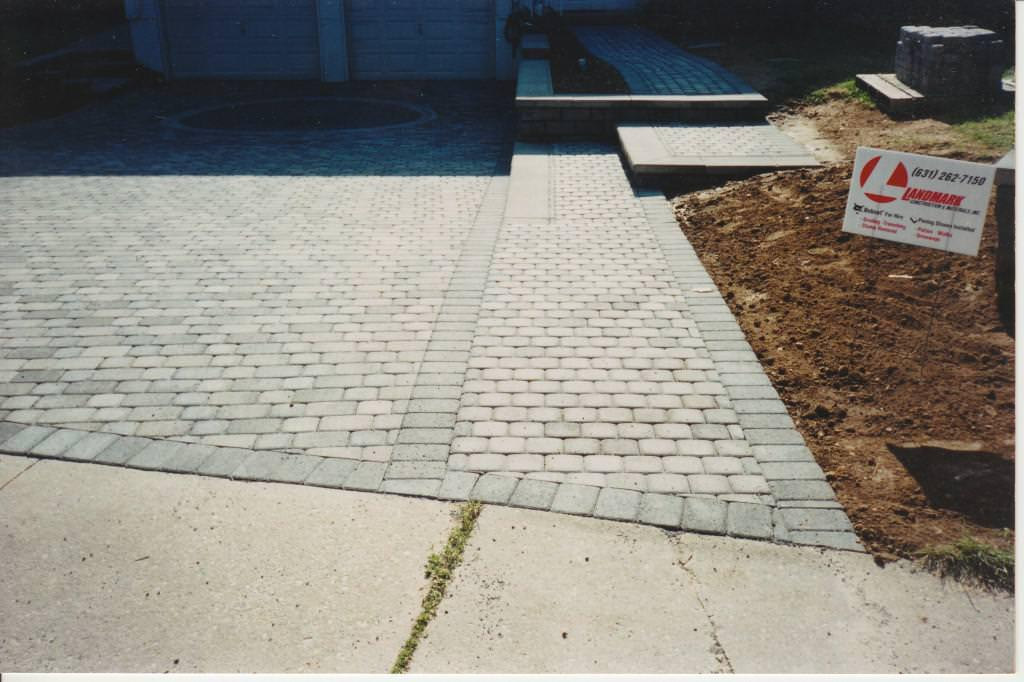 Image of: Cement Pavers For Patio